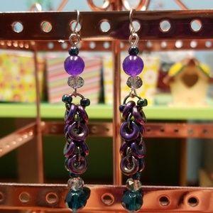 Sterling Silver French Pierced Earrings